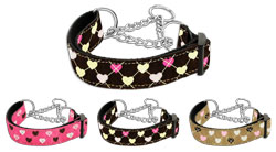 Argyle Hearts Martingale Collars
